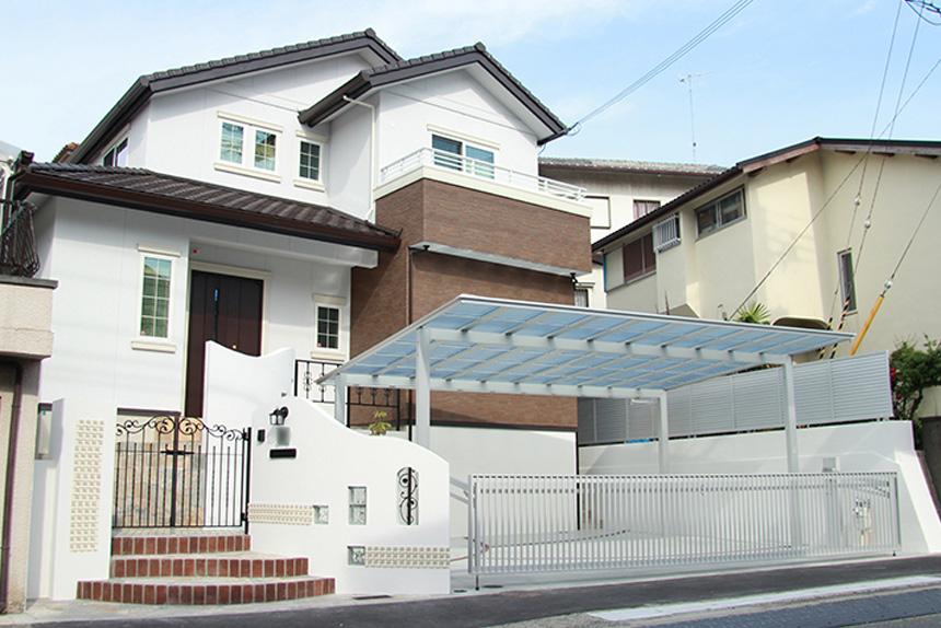 新築外構 お客様の声 神戸市垂水区 S様 1