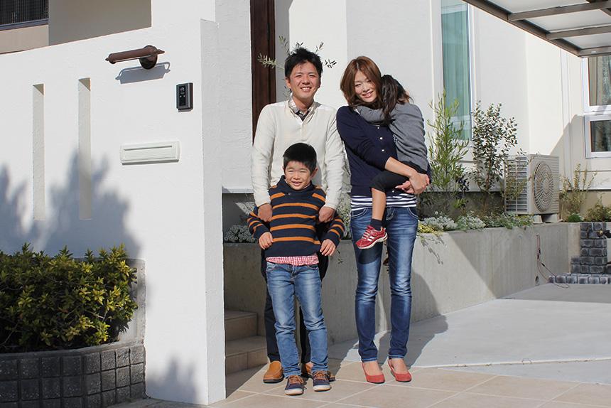 新築外構 お客様の声 神戸市西区 E様 1